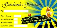 Albert-Heim-Hütte Geschenk Gutschein